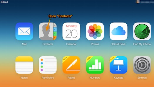 Adding All4band to iCloud contacts